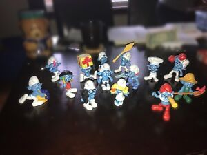 Smurf collectables