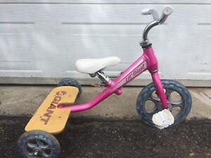 Vélo pour enfant tricycle Giant aluminium