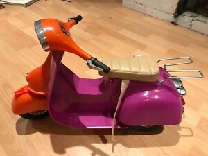 Like brand new! Vespa scooter for American Girl dolls