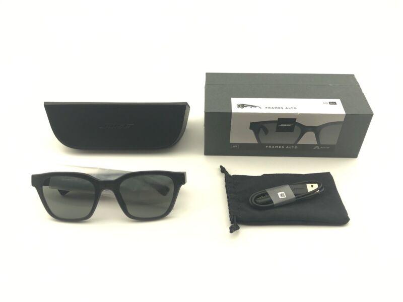 *OPEN BOX* Bose 840667-0100 Frames Alto Audio Smart Sunglasses - Black M/L