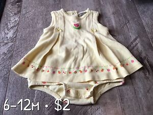 6-12m girl outfits
