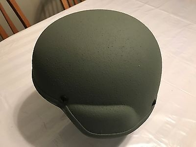 BAE Systems Advanced Combat Helmet ACH with Chin Straps, Pads & Manual Sz LG NEW