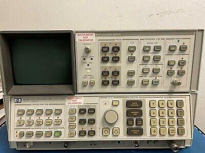 Agilent Hp 8568b Spectrum Analyzer Wspectrum Analyzer Display