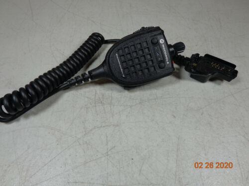 MOTOROLA RMN5089BSP01 XTS5000 VHF XTS3000 Radio Commander II speaker mic 3.5mm K