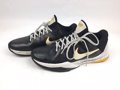 release date: fd349 e1966 Nike Zoom Kobe V 5 Mens White Black Del Sol Lakers 386429-002 Size 8.5
