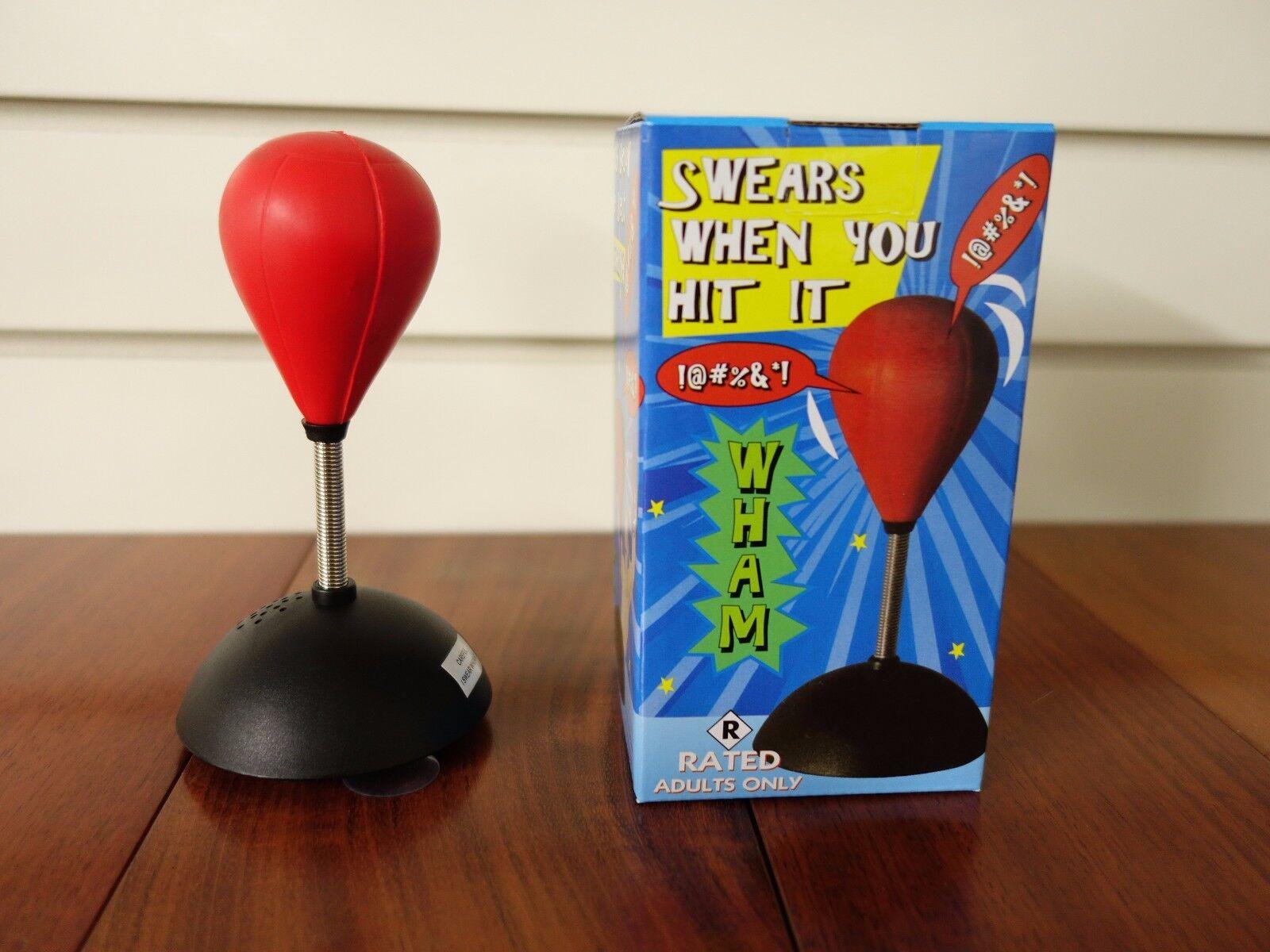 Swearing Punch Ball