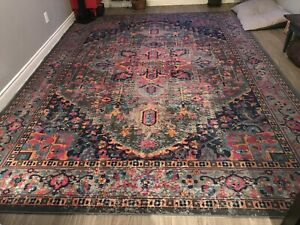 Band new rug distressed