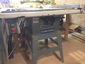 King Contractor Table Saw
