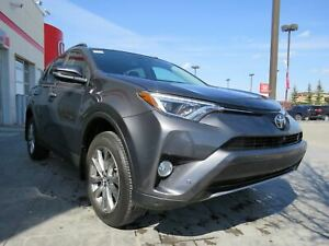 2017 Toyota RAV4 Limited*Cinnamon Leather, Lane Assist, 360 Came