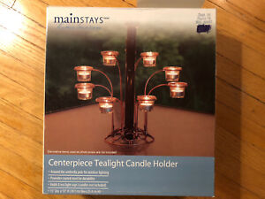 Centrepiece Tealight Candle Holder