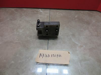 Nakamura Cnc Lathe Miyano Turret Tool Holder Holding 5d78 500a 5d78500a Tw-10