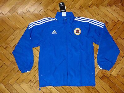 Hong Kong National Team Soccer Coat HKFA Top Adidas Woven Football Jacket NEW L National Team Woven Jacket