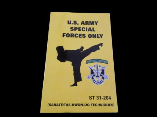 U.S ARMY SPECIAL FORCES HANDBOOK HAND TO HAND FIGHTING KARATE TAE-KWON-DO