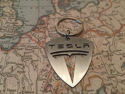 Tesla Llavero Modelo 3S X Roadster Sobrealimentador Llavero