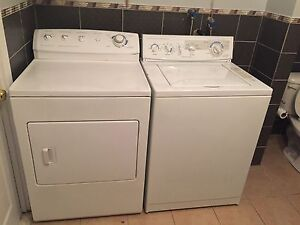good condition washer and dryer