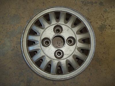 1989 89 1991 91 Hyundai Excel Alloy Wheel Rim 13