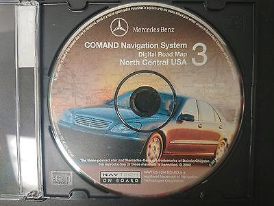 Mercedes Benz Comand Navigation System DVD #3 Part Number Q 6 46 0111 #CD102