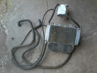 piaggio X9 125 radiator, fan, hoses and expansion bottle for sale  Burnley