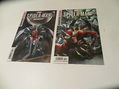 Marvel Comics Velocity Spider-Man #4 & City at War Spider-Man #4*