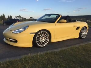 Porsche Boxster Only Color in North America