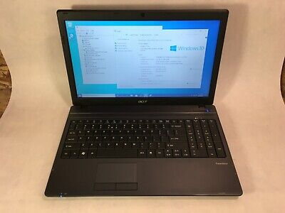 "Acer TravelMate 5542 15.6"" Laptop AMD Athlon II 2.2GHz 4GB 500GB Win 10 -RR"