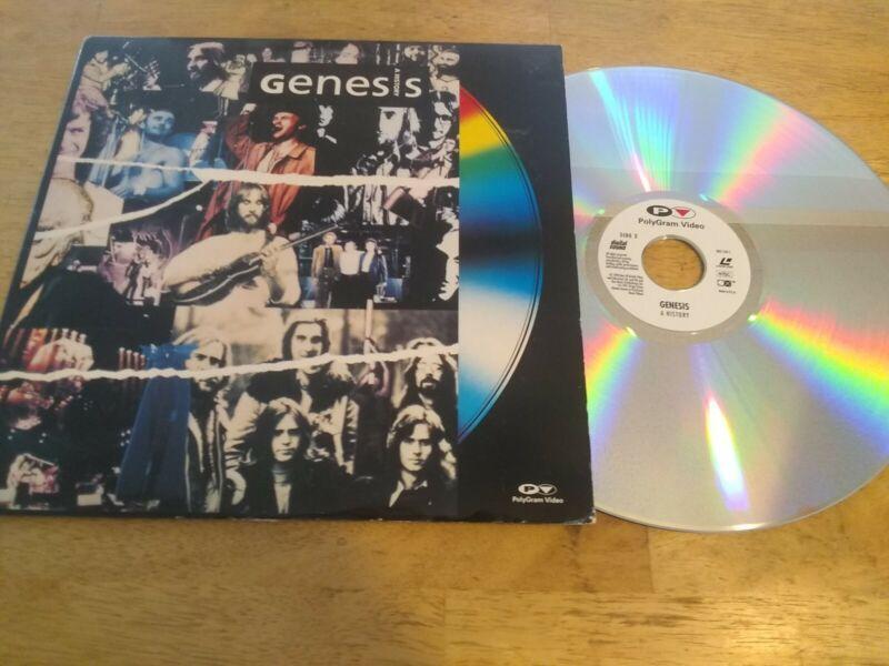 GENESIS Laserdisc Phil Collins Peter Gabriel A History LD USA