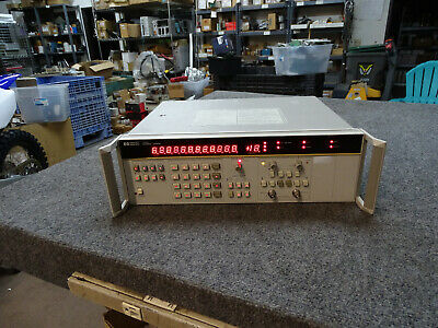 Hp Agilent 3335a Universal Counter Opt 010