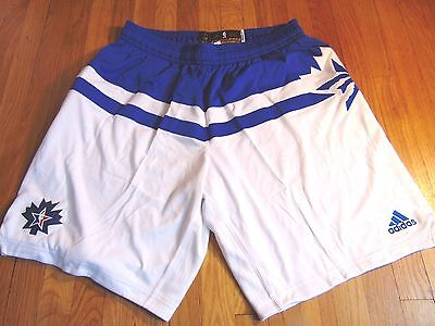ADIDAS NBA AUTHENTIC TORONTO USA 2016 EAST ALL-STAR GAME SHORTS SIZE 3XL+2""