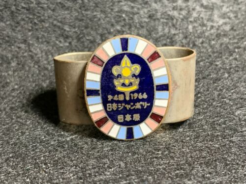 1966 Boy Scouts Nippon World Jamboree Neckerchief Slide