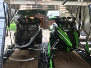 Blaze snowmobile trailer