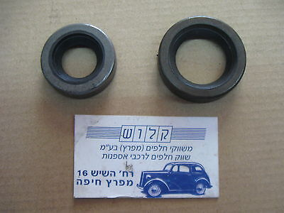 Fiat 124 Coupe,Cabriolt,Sport . Steering Pinion Oil Seal Upper + Lower 2 Psc