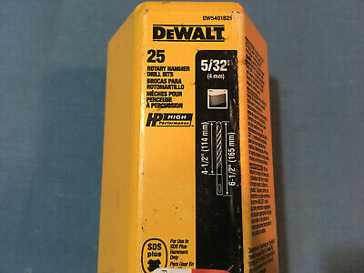 New Dewalt Dw5401b25 25 532 X 4-12 X 6-12 Sds Rotary Hammer Drill Bit
