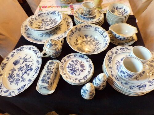 Vtg Blue Danube Blue & White Onion Pattern YOU PICK PIECES VARIOUS MARKS