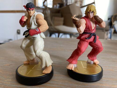 Ryu And Ken - Super Smash Bros. Series - Amiibo - Used - Great Condition  - $31.00