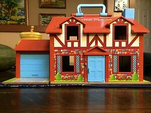 Vintage Fisher Price Little People House in Original Box Strathcona County Edmonton Area image 8