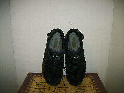 Allrounder Mephisto Women's Black Suede Athletic Shoes Size 8M Allrounder Black Shoes
