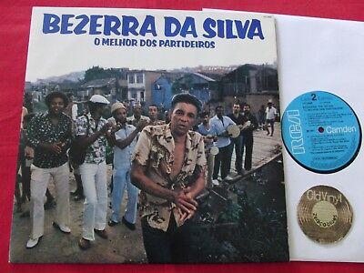 LP BEZERRA DA SILVA O Melhor Dos Partideiros 1982 Brasil | M-