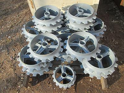 "9.5"" Ductile Iron Cultipacker Wheel for food plot seeding"