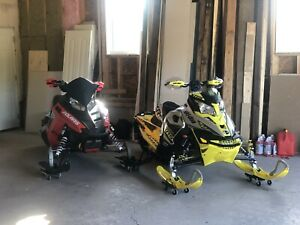 2 immaculate sleds (package deal)