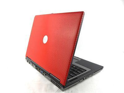 "CHEAP RED DELL Latitude 14"" LAPTOP - Dual Core 2GB RAM 80GB HDD WIFI WINDOWS 7"