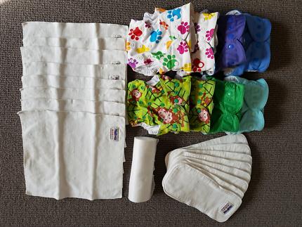 Baby bee hinds magic multifit  cloth nappies