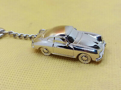 Vintage Porsche 356 Keychain Fob Carrera Key ring