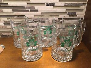 "Alexander ""Keiths me I'm Irish ""  Beer Mug Glasses - set of 5"