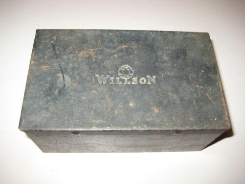 Vintage Metal Case for Willson Welding/Safety Googles, SteamPunk