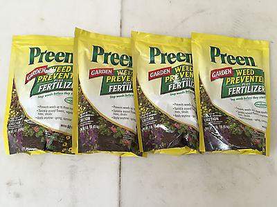 4 Lbs Preen Garden Weed Preventer Plus Fertilizer Flowers Vegetables 80 sq ft