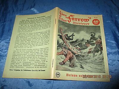 Jörn Farrow 's  U-Boot  Abenteuer ,Original - Romanheft von  1957 , Nr. 136