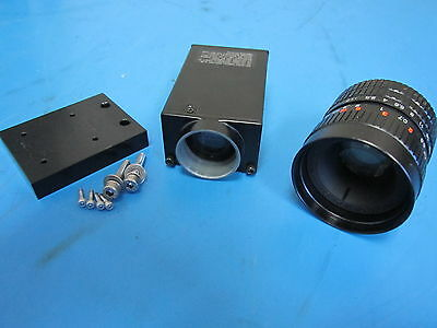 (USED CCD Camera CS8320 & Fujinon TV 1:1.7 / 35 Lens HF35A-2 with Mounting Plate)