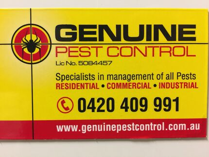 EXPERTS in pest control fr $89. ALL SUBURBS