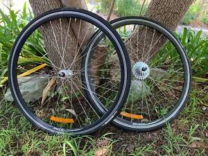 700c Wheelset Bicycle Parts And Accessories Gumtree Australia