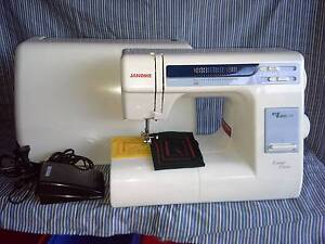 Janome 18W Demo Model ( New ) Taylors Lakes Brimbank Area Preview